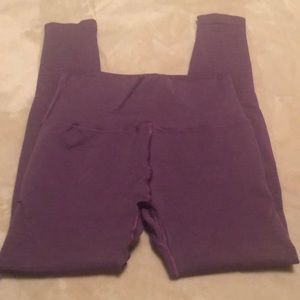 Alphalete Revival R6 Leggings Purple
